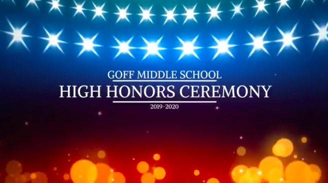 Video: Goff High Honor Awards