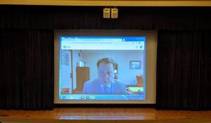 Superintendent Jeff Simons virtual presentation on opening day