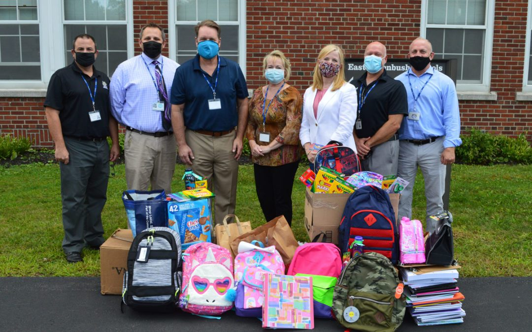 District Receives School Supply Donation from 'Give Back and Impact'