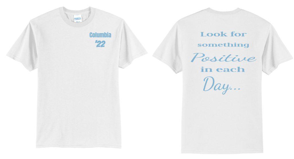 CHS Class of 2022 spirit week shirt