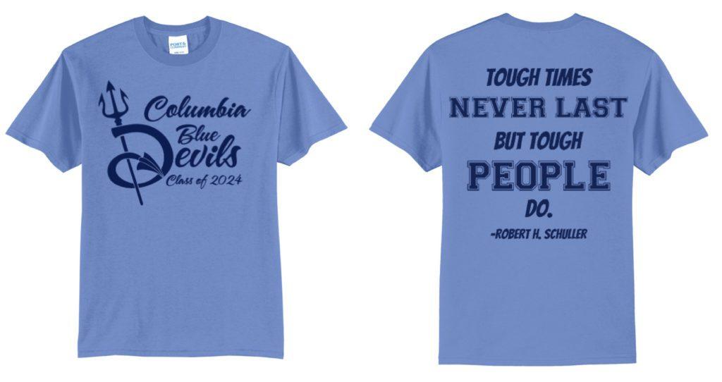CHS Class of 2024 spirit week shirt