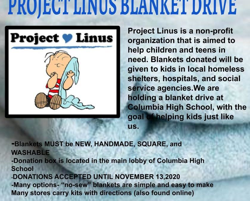 Columbia Accepting Donated Blankets for Project Linus