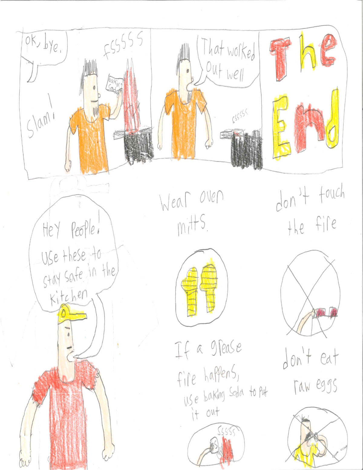 Riley Sheehan - Fire Prevention Week Drawing Contest page 2