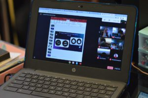 Google Meet on chromebook