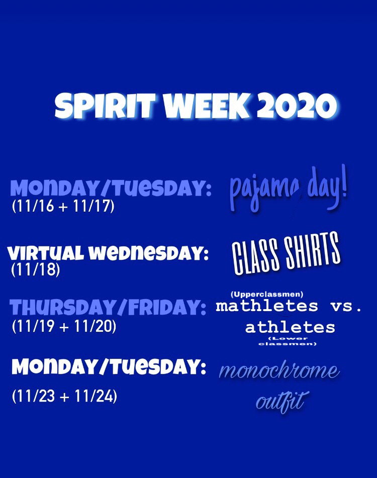 Columbia Spirit Week 2020