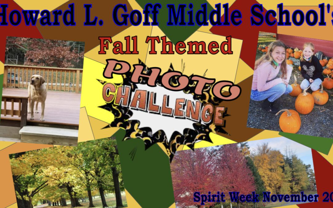 Goff Shares Fall-Themed Photos from Spirit Week Photo Challenge