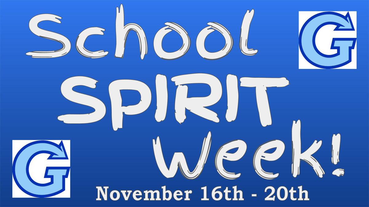 Goff School Spirit Week banner