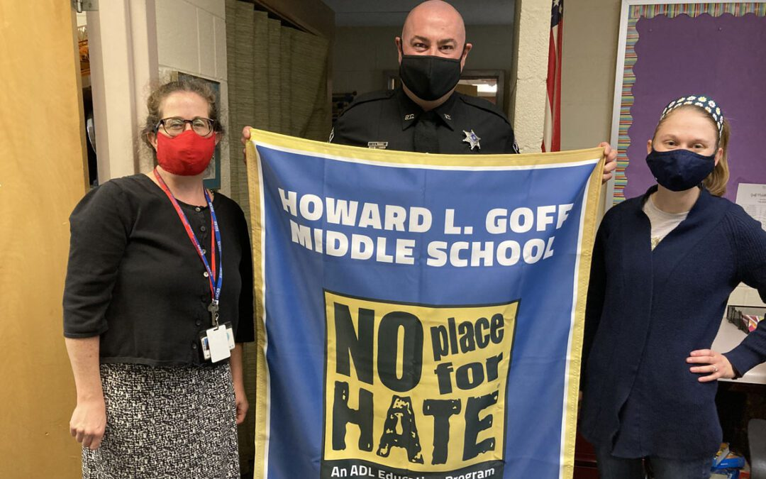 Goff Middle School Receives 'No Place for Hate' Designation