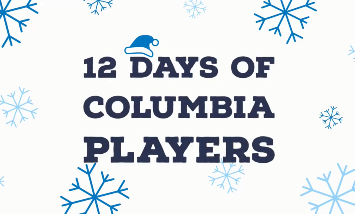 12 Days of Columbia Players image
