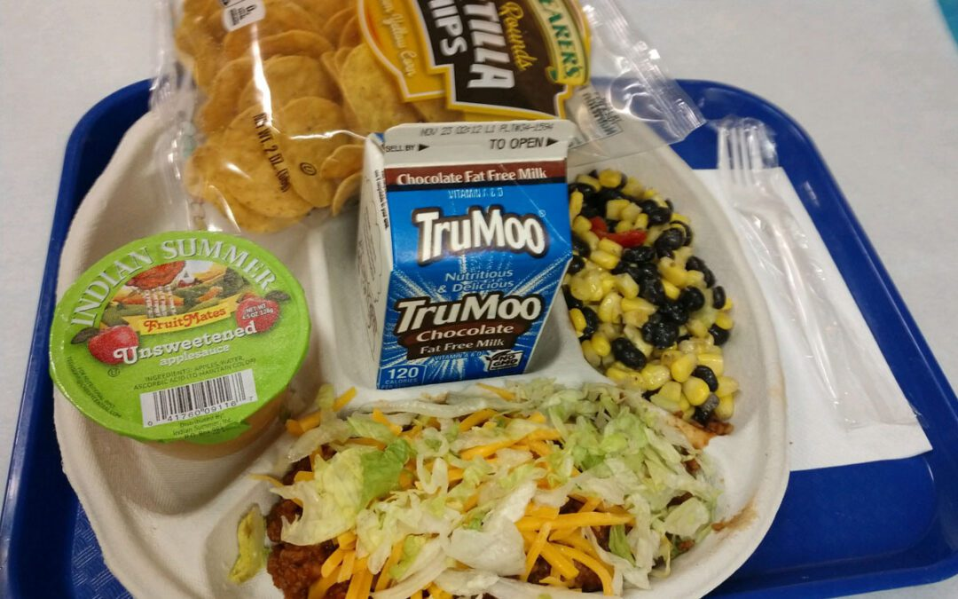 Breakfast and Lunch Menus – January 2021