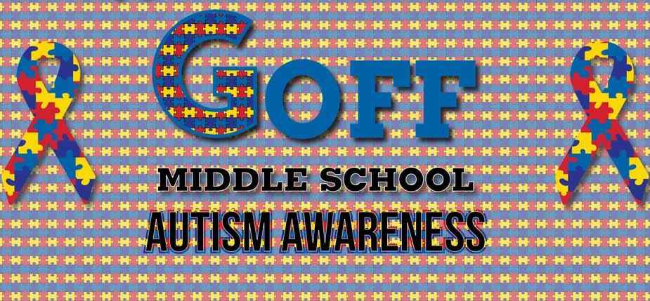 Goff Autisum Awareness image