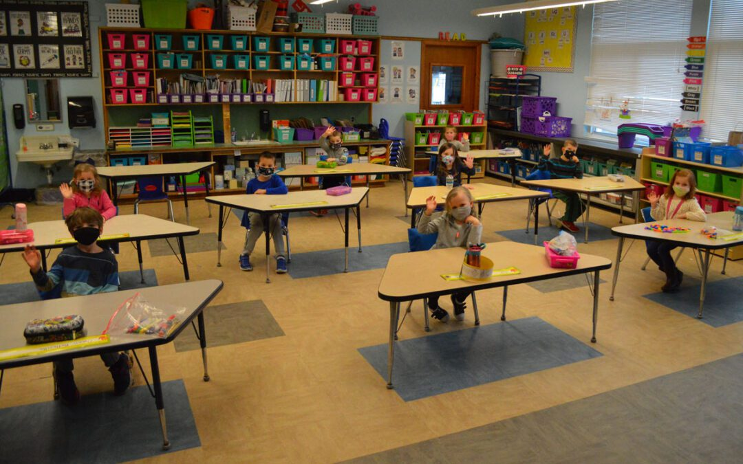 A Step Toward Normalcy as Kindergarten Returns to Classrooms Full Time