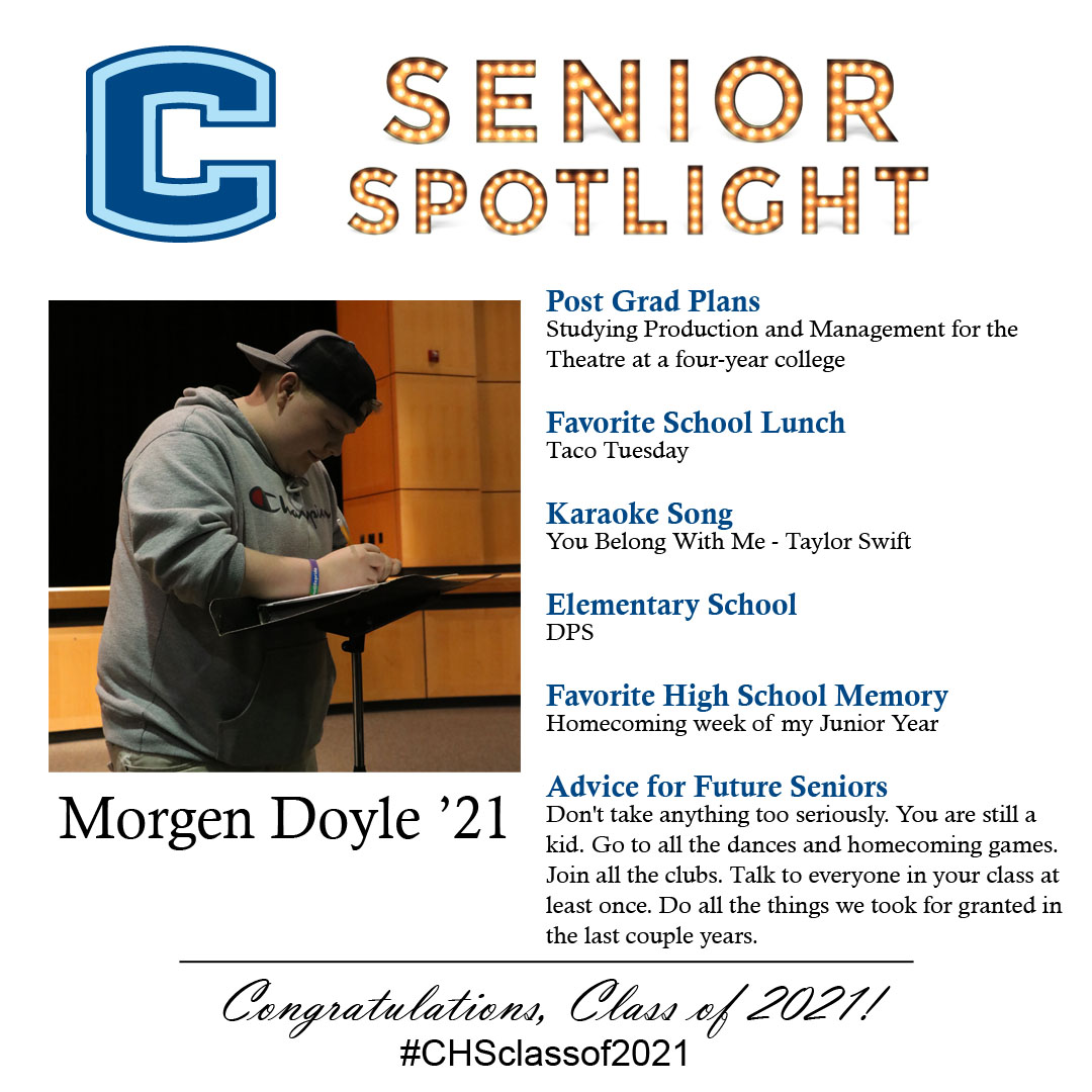Morgen Doyle senior spotlight