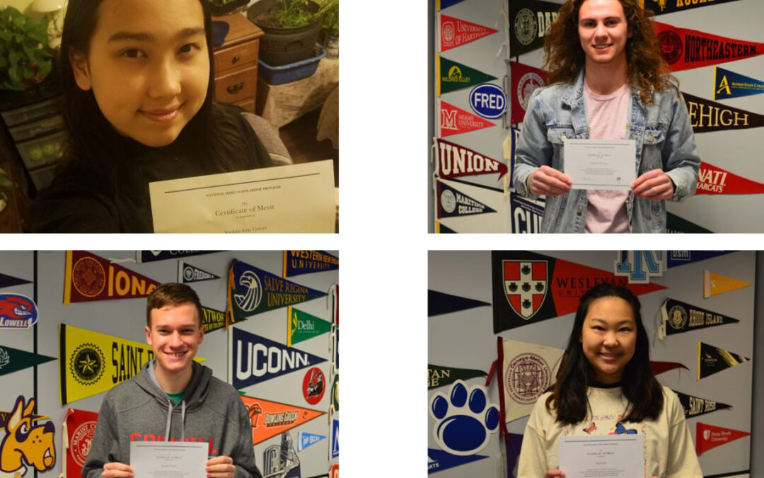 Four Columbia Students Named National Merit Scholarship Finalists