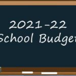 Blackboard budget graphic