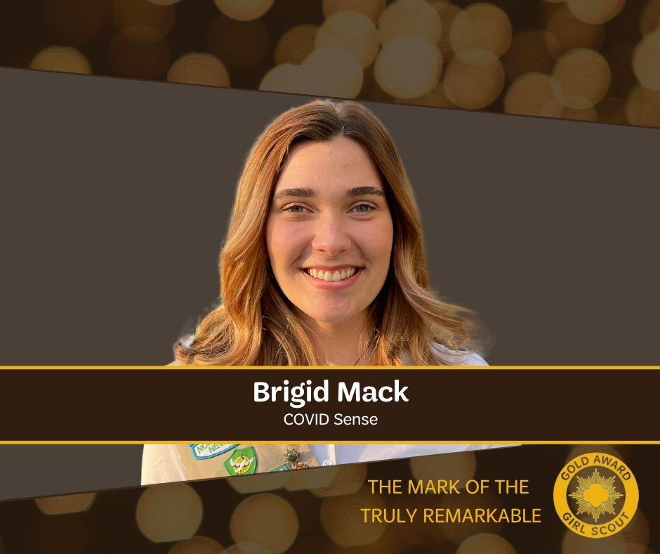 Brigid Mack - Gold Award