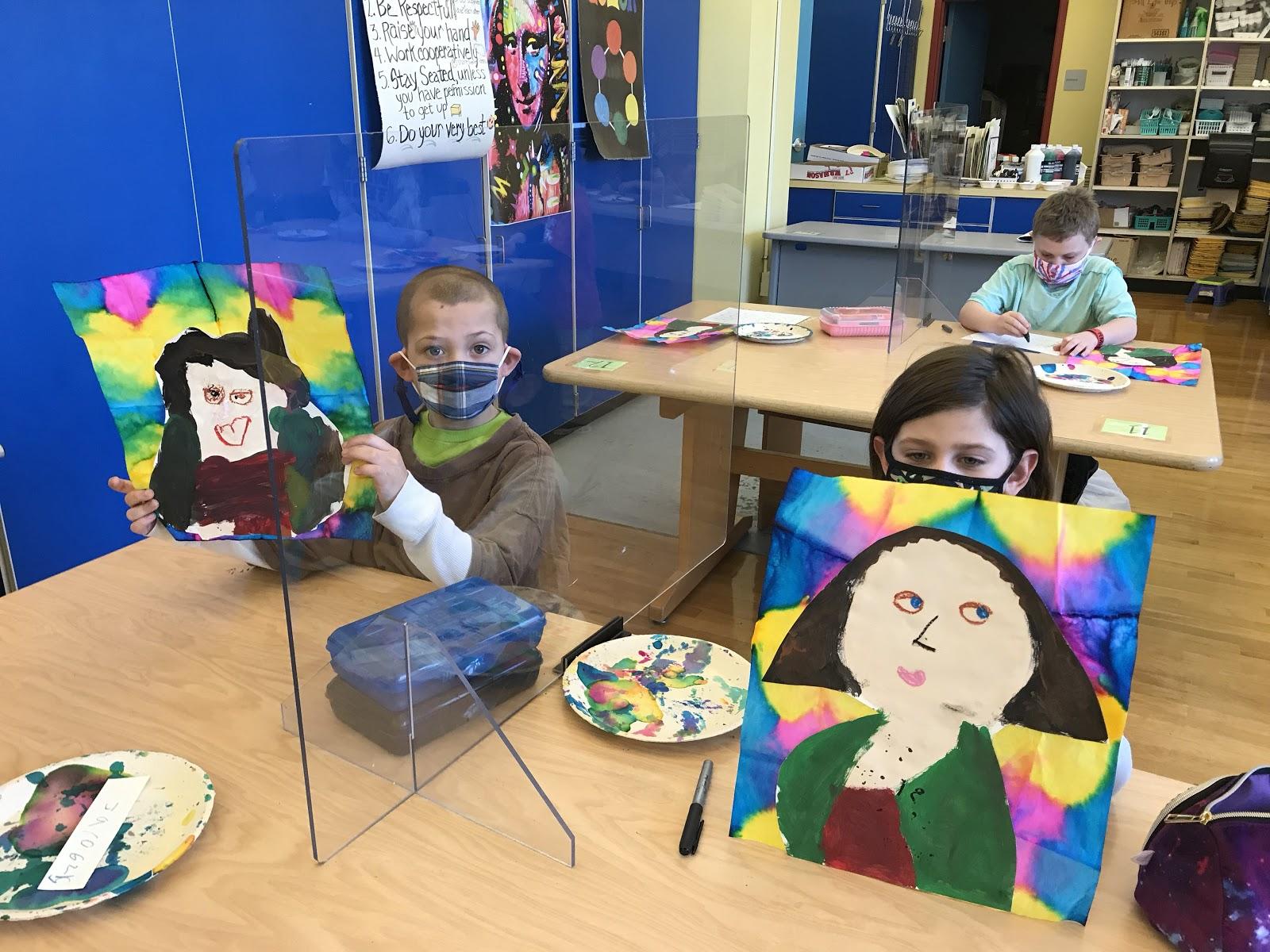 Genet art students