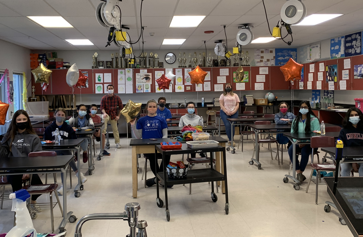 Goff Science Olympiad students