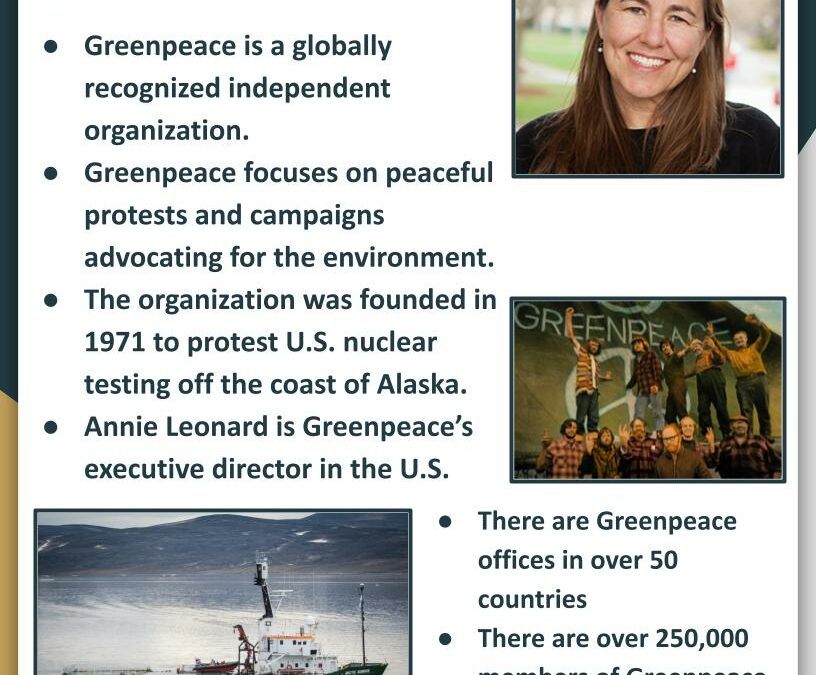 Earth Day 2021: Featuring Greenpeace