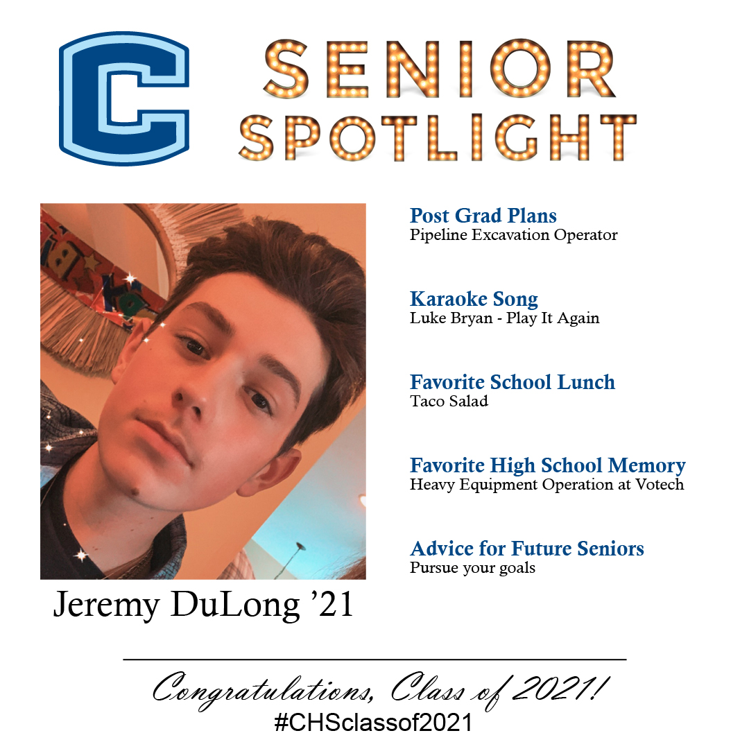 Jeremy DuLong senior spotlight