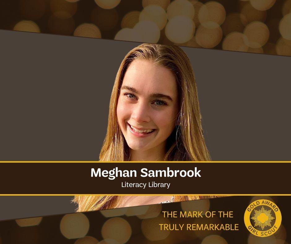 Meghan Sambrook - Gold Award