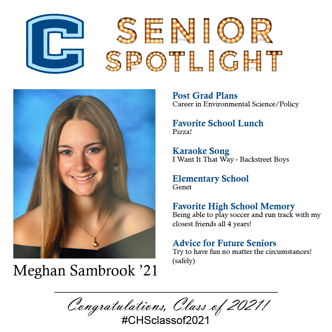 Meghan Sambrook senior spotlight