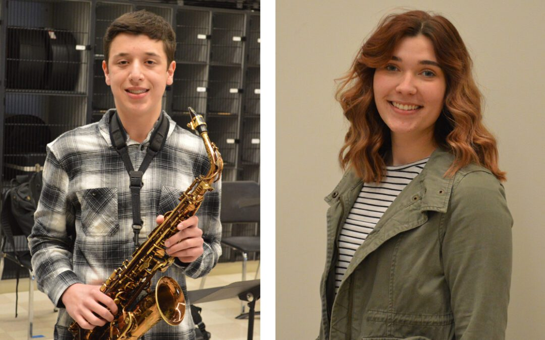 Tyler Davis and Brigid Mack Selected to All State Music Festival