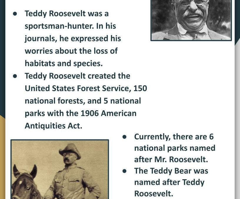 Earth Day 2021: Featuring Theodore Roosevelt