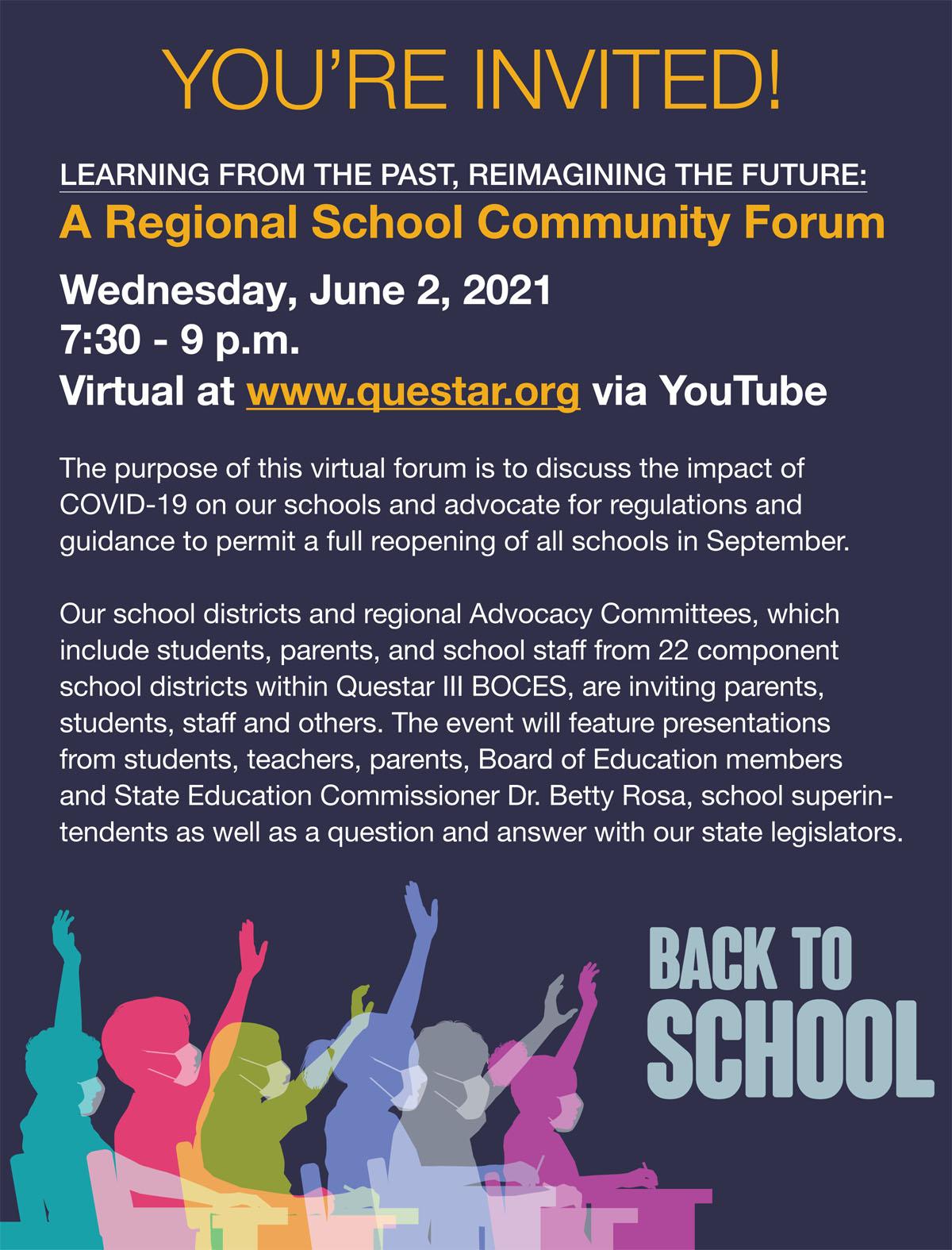 Regional Forum Invite