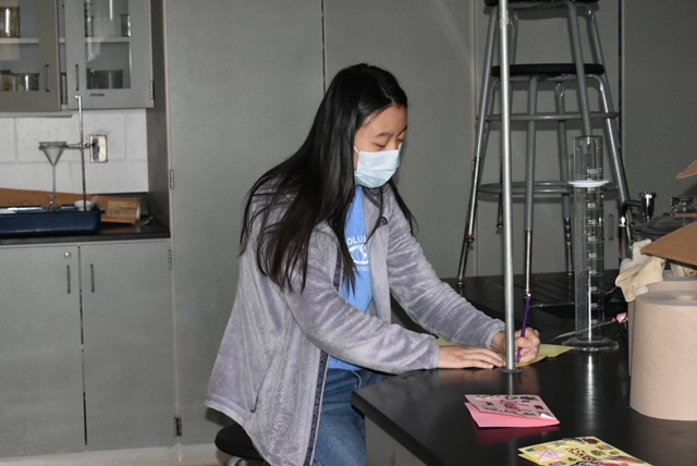 Columbia student competing in virtual Science Olympiad competition