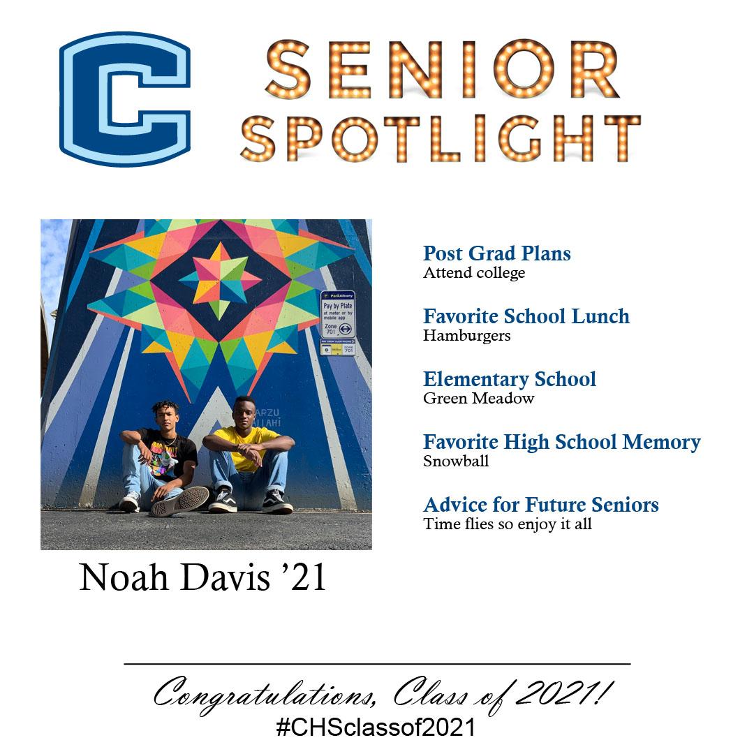 Noah Davis senior spotlight