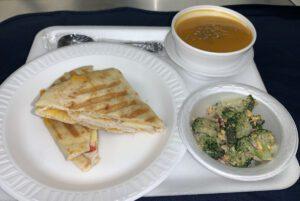 Panini, Soup and Salad