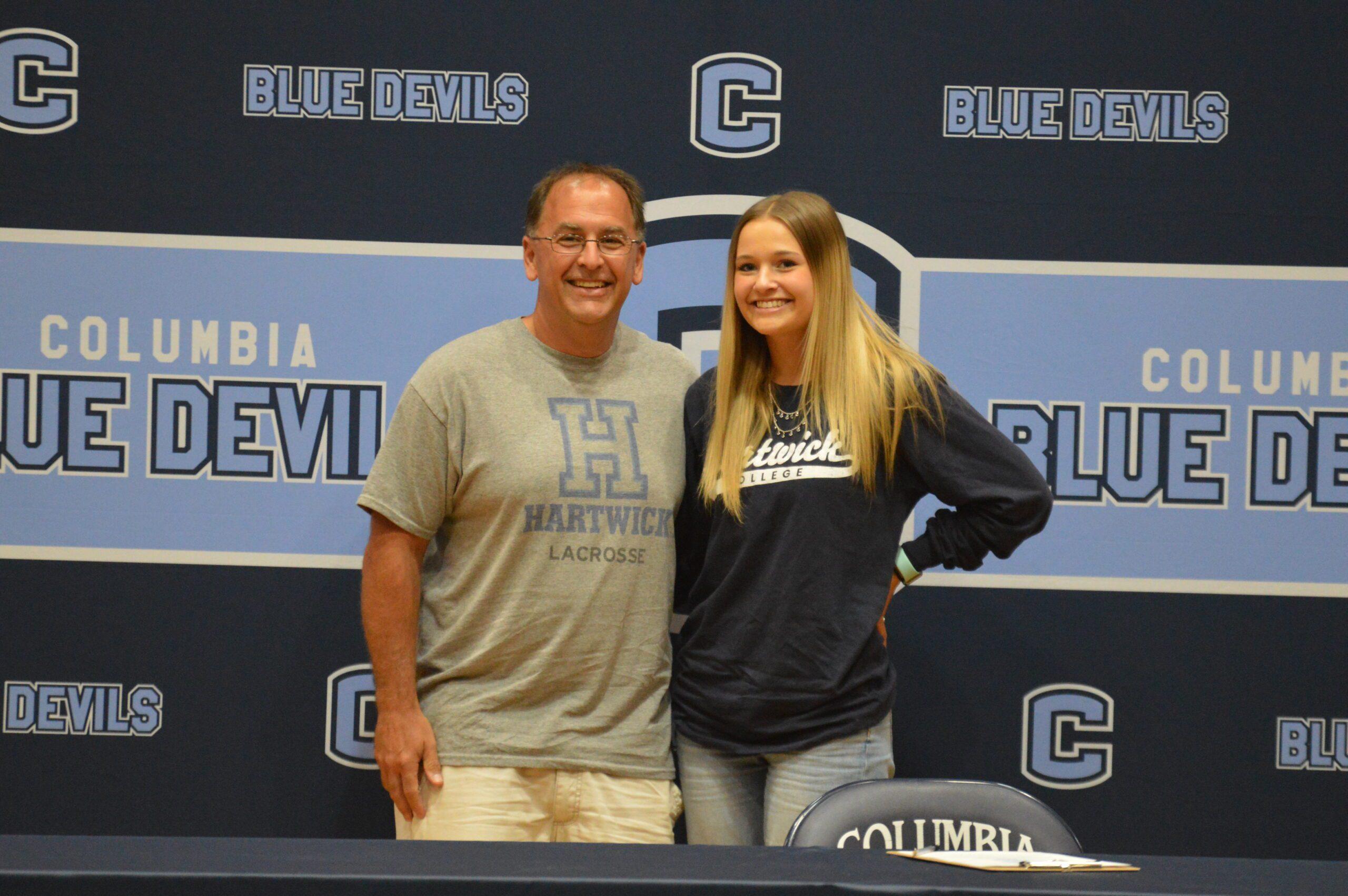 Brianna Liebro college signing