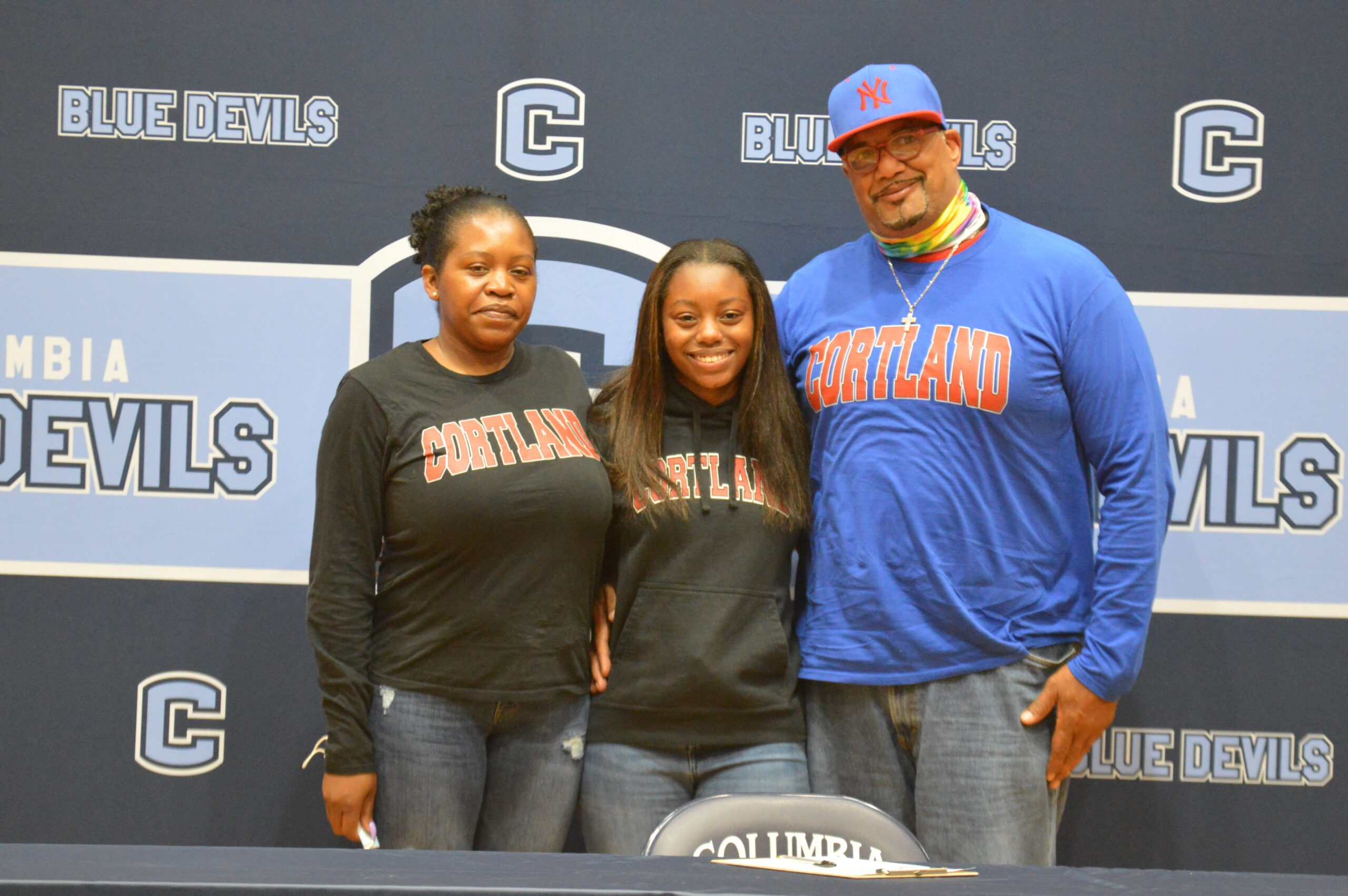 Faith Nelson college signing