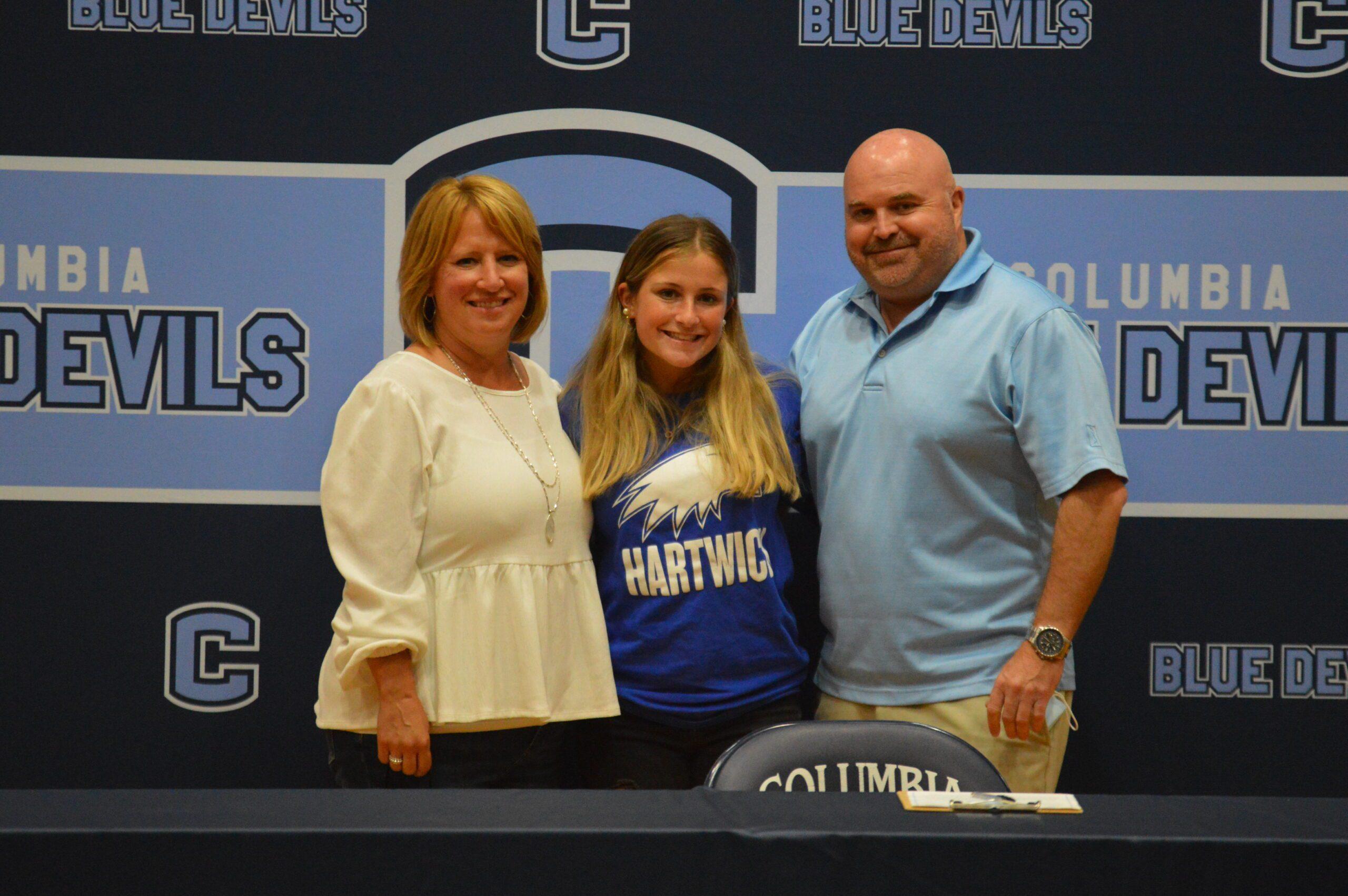 Gabrielle Stringer college signing
