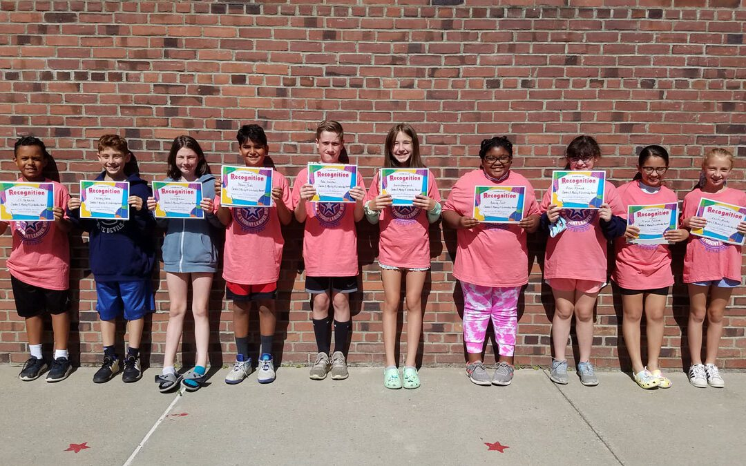 Students Receive Physical Education Leadership Awards