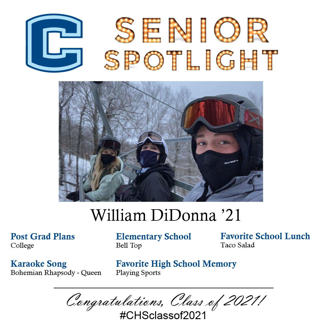 William DiDonna senior spotlight