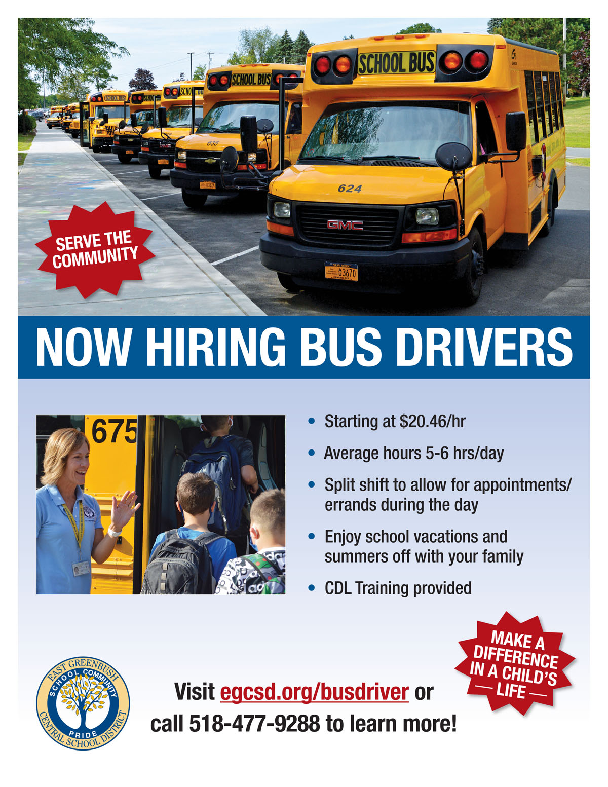 Bus Driver Flyer