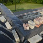 Roofing construction at Genet