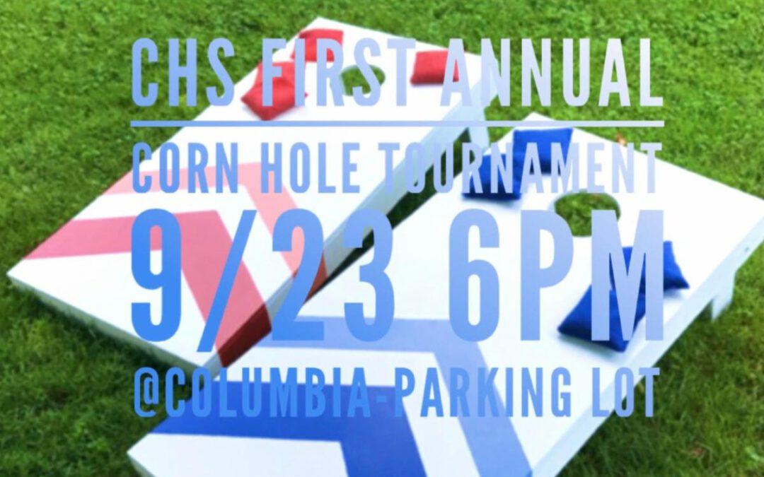 CHS PTSO Cornhole Tournament – September 23