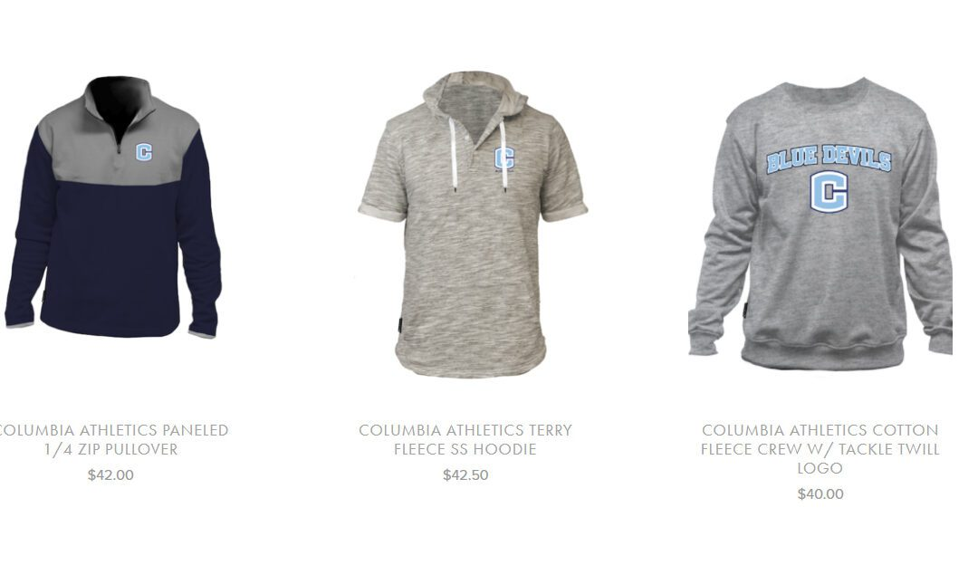 Columbia All Sports Club Holiday Store Now Open
